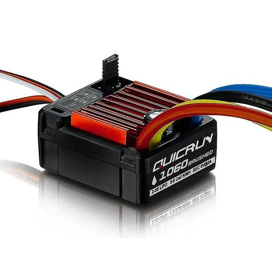 QuicRun Brushed ESC WP-1060 60A BEC 3A 2-3s 1/10