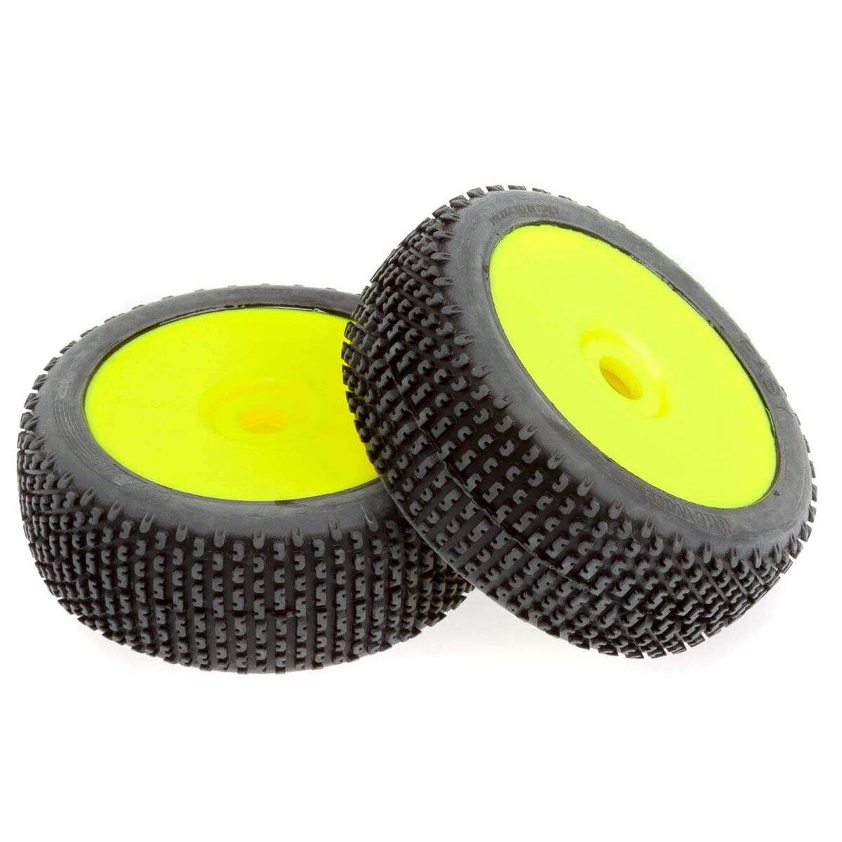 1//8 RC Nitro Electric Buggy Off Road Wheel and tyre Set of 2 Yellow