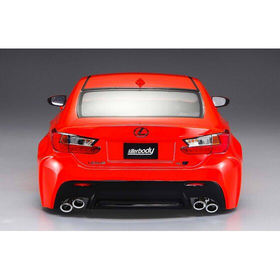 Lexus RC F 195mm Orange lackiert, RTU all-in