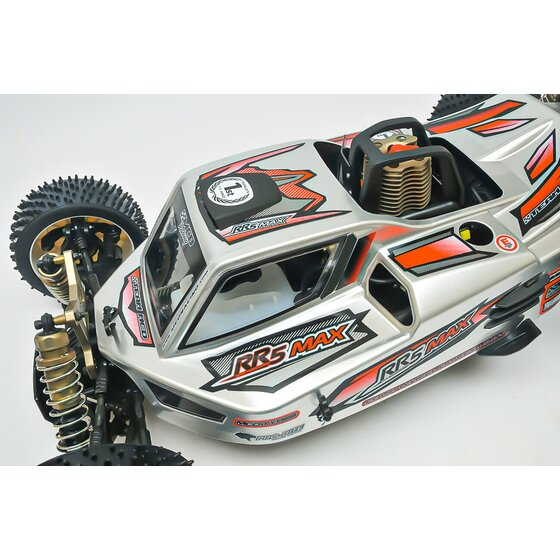 RR5 Max Pro CF Rolling Chassis incl. Pipe