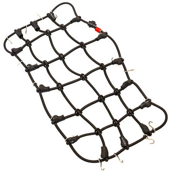 Luggage & safety net black 120x80mm