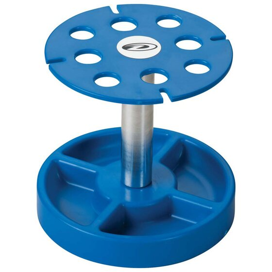 Pit Tech Deluxe Shock Stand Blue