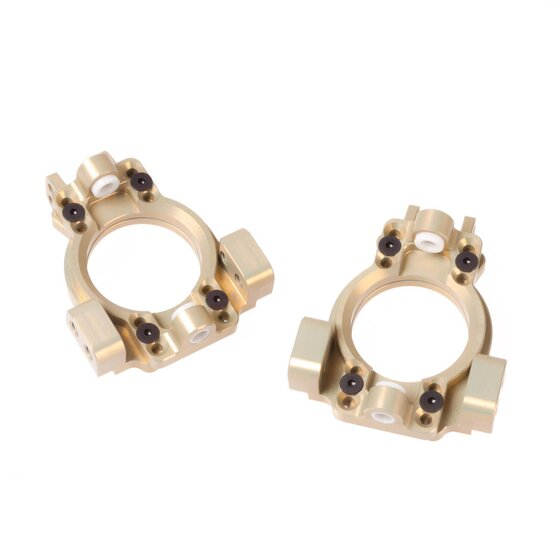 Caster Block Set adjustable 0°±4° Alloy | Losi 5ive Series