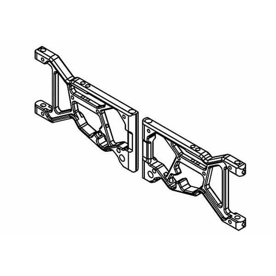 Front Wishbone Alloy Set (Opt.)