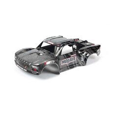 MOJAVE 1-7 EXB Painted Decaled Trimmed Body Black von ARRMA