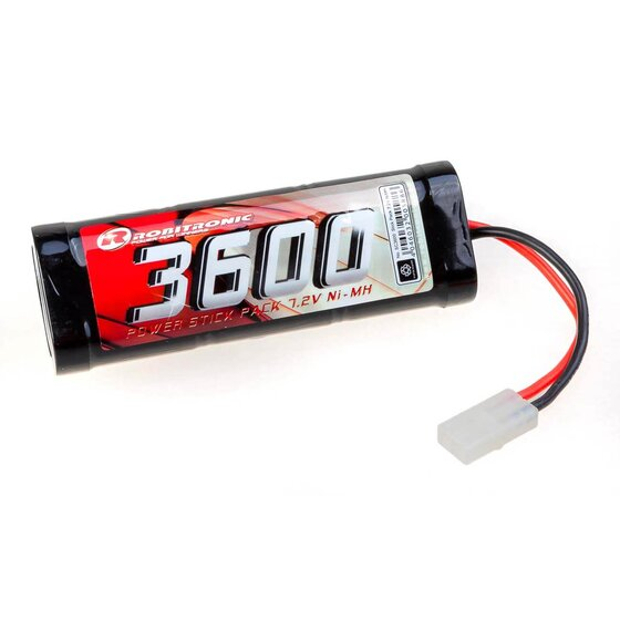 NiMH 7,2V, 3600mAh, Stick Pack