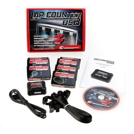 Lap Counter USB System mit 3 Transponder